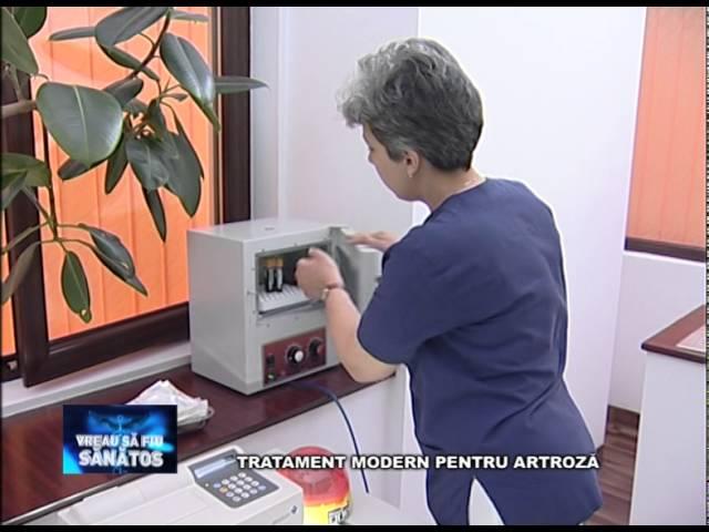 dispozitiv pentru tratamentul forumului artrozei