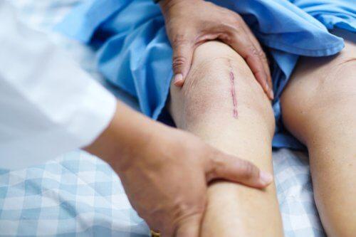 pansament pentru boala articulației genunchiului