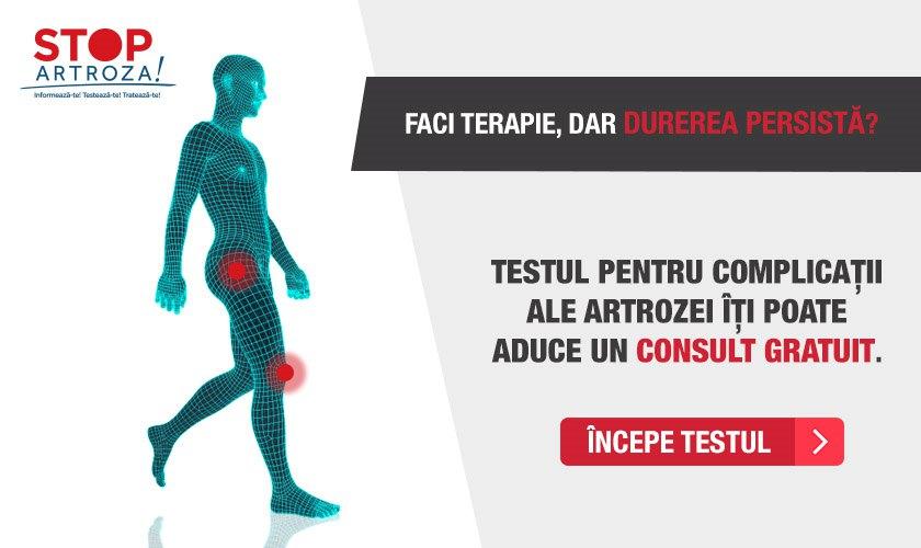 artroza picioarelor tratament de 1 grad