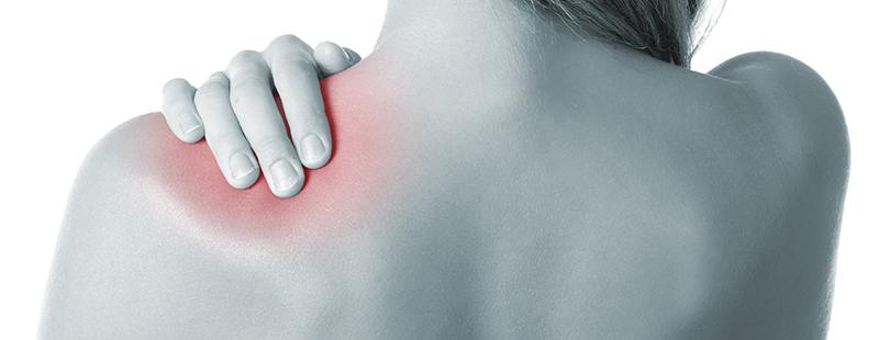 durere în fața articulației umărului