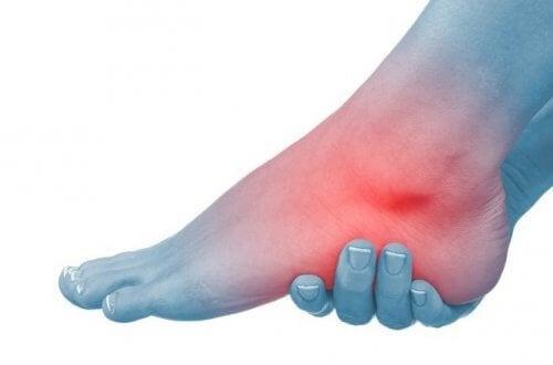 cum să tratezi durerea gleznei piciorului dureri la articulații de la lorista ei