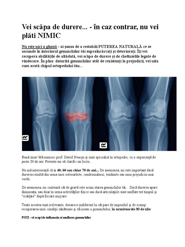 dacă articulațiile doare numai în timpul zilei durerile articulare sunt