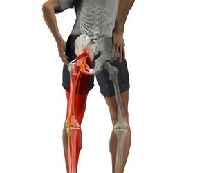 tratament de întindere a genunchiului creșterea durerii în articulația șoldului