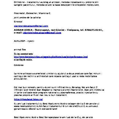 unguente homeopate pentru osteochondroza coloanei vertebrale