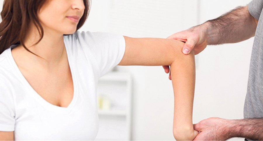 dureri de umăr și amorțeală a brațului tratarea artrozei gleznei