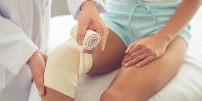 afecțiunea simptomelor și tratamentului genunchiului tratamentul heviz al artrozei