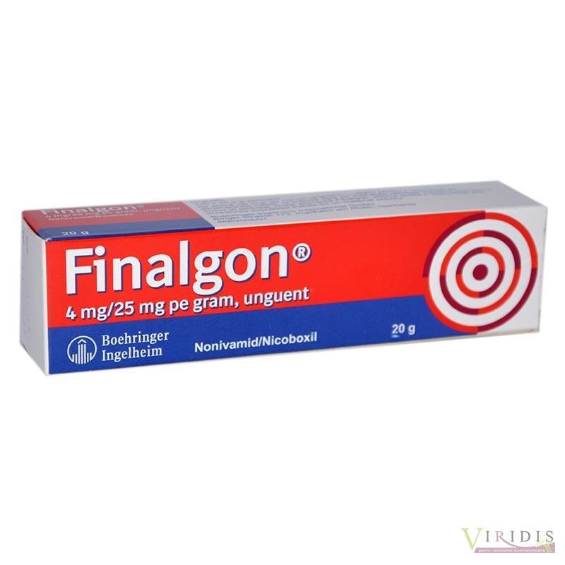 finalgon pentru dureri articulare